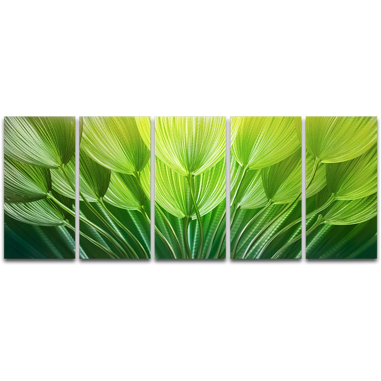 shades of green metal artscape. Black Bedroom Furniture Sets. Home Design Ideas
