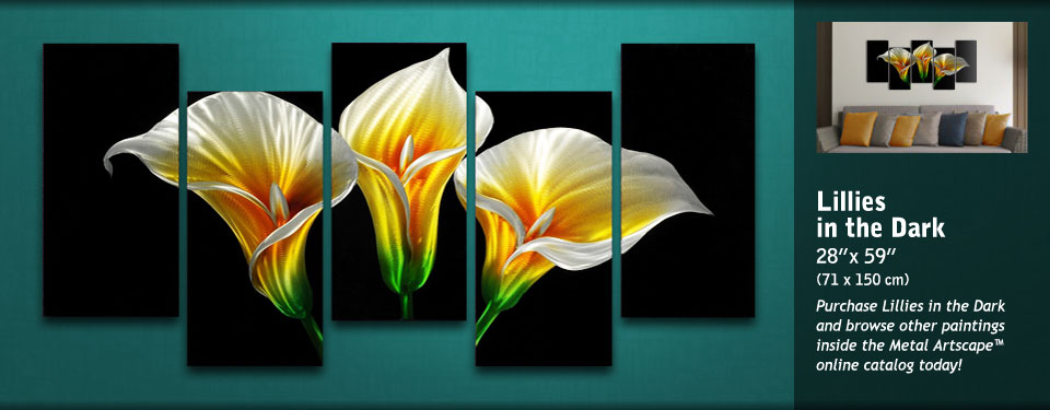 Lillies in the Dark